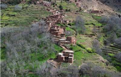A trip day with the berberes of the high Atlas
