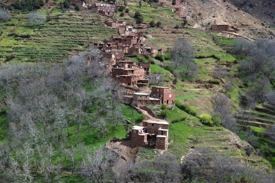 Trekking in the  Western high Atlas with Ascent of Toubkal