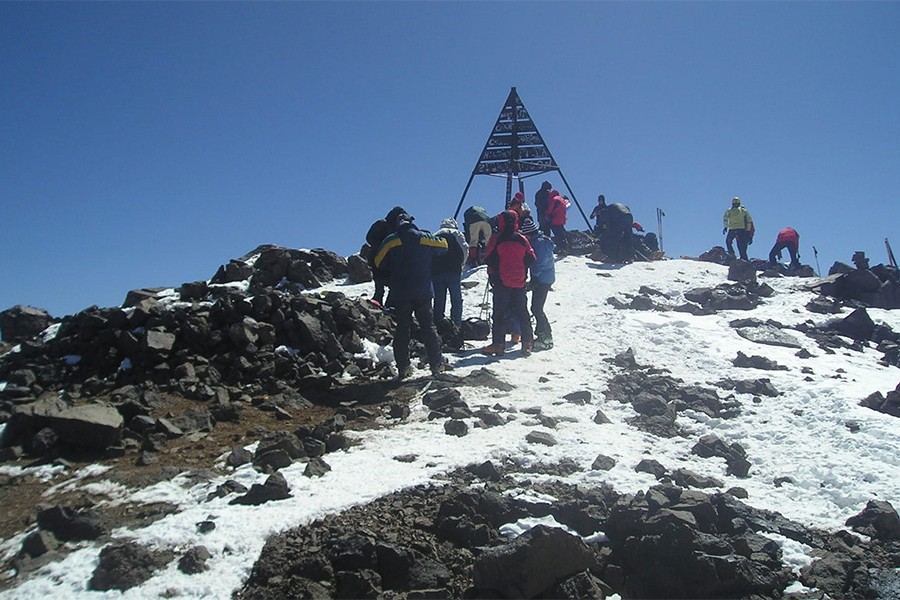 Ascent of Toubkal in 3 days (Confirmed level)